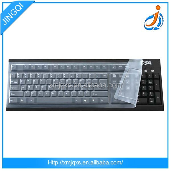 Wholesale customized size flexible 100% silicone rubber computer keyboards