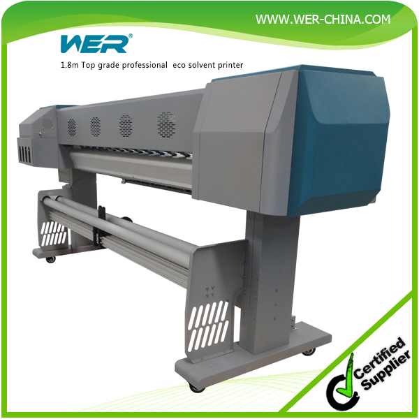 popular 1.8m with 1440dpi DX5 print heads WER-ES1801,advertising billboard printing machines