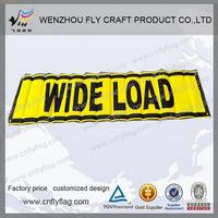High quality fan hand scrolling banner with low price