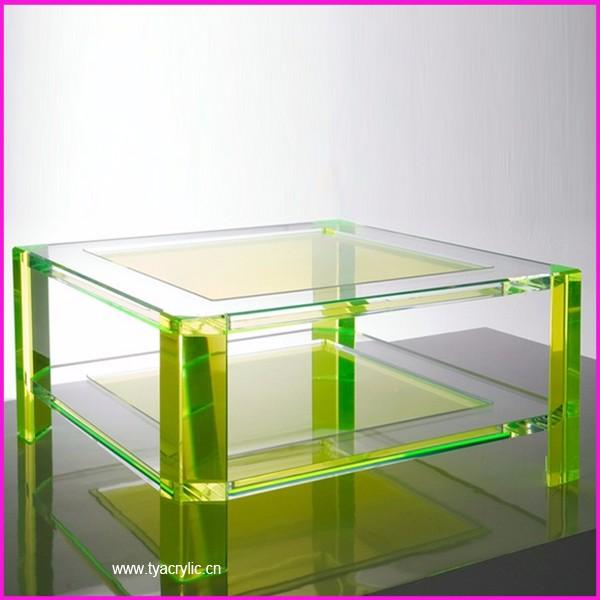 Acrylic transparent color Z bar furniture stool chair
