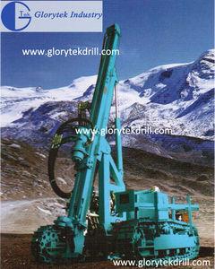 GL-90Y hydra quarry borehole drilling machines