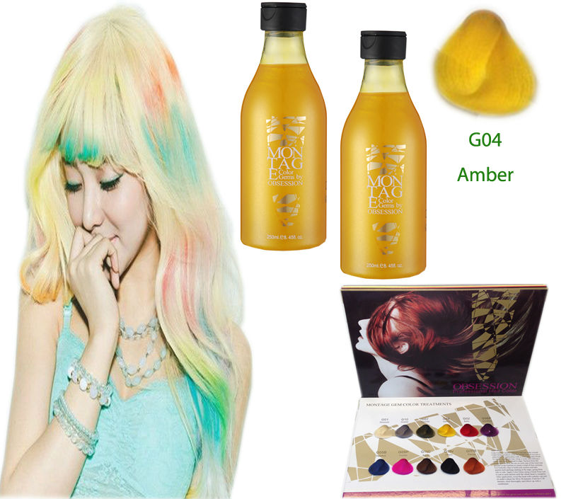 No Ammonia No Peroxide Hair Color Hair Manicure Semi Permanent Hair