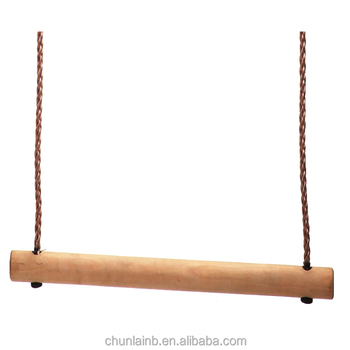 Wooden Swing Set Wood Trapeze Bar Swing Buy Indoor Wood