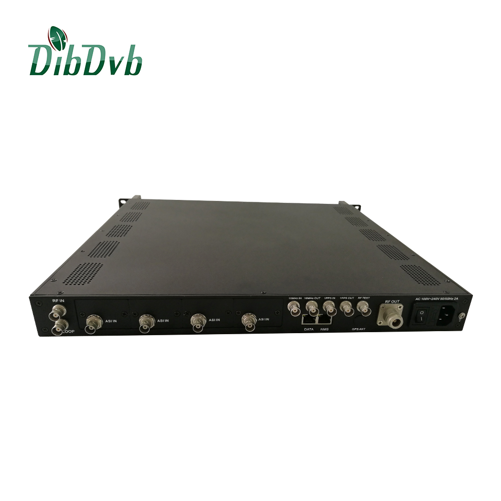 professional isdbt modulator supporting south america Digital tv system with transmitter 200W
