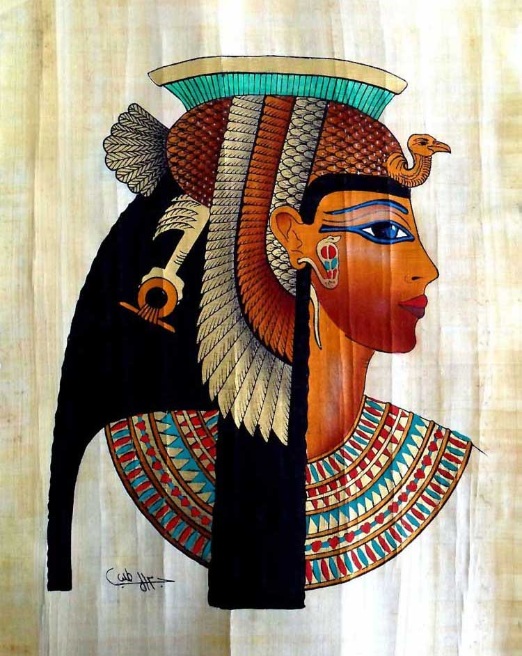 Cleopatra Face Painting