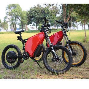 Stealth bomber electric bike 8kw electric fat bike with Rockshox fork