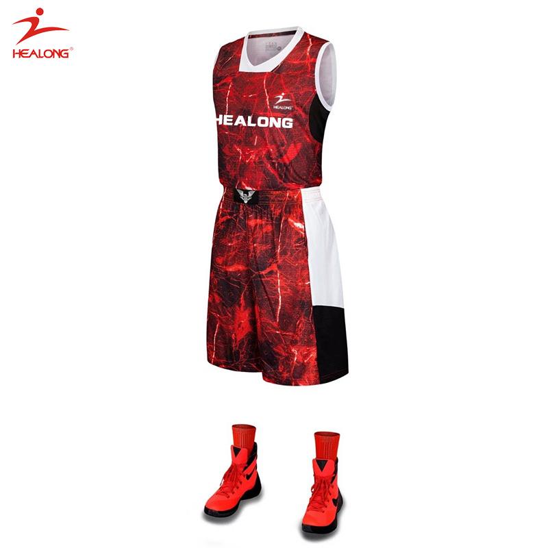 custom sublimated blank basketball uniform design template mesh