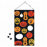 New Product Ideas 2018 Seasonal Halloween Pumpkins Kids Activity Bean Bag Toss Game