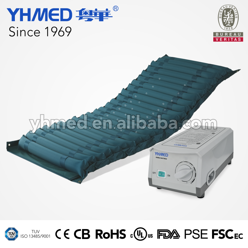 Air inflatable green hospital customized breathable anti bedsore bed japan mattress
