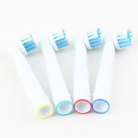 4 pcs Replacement Electric Toothbrush Heads Soft-bristled SB-17A For oral b electric toothbrush