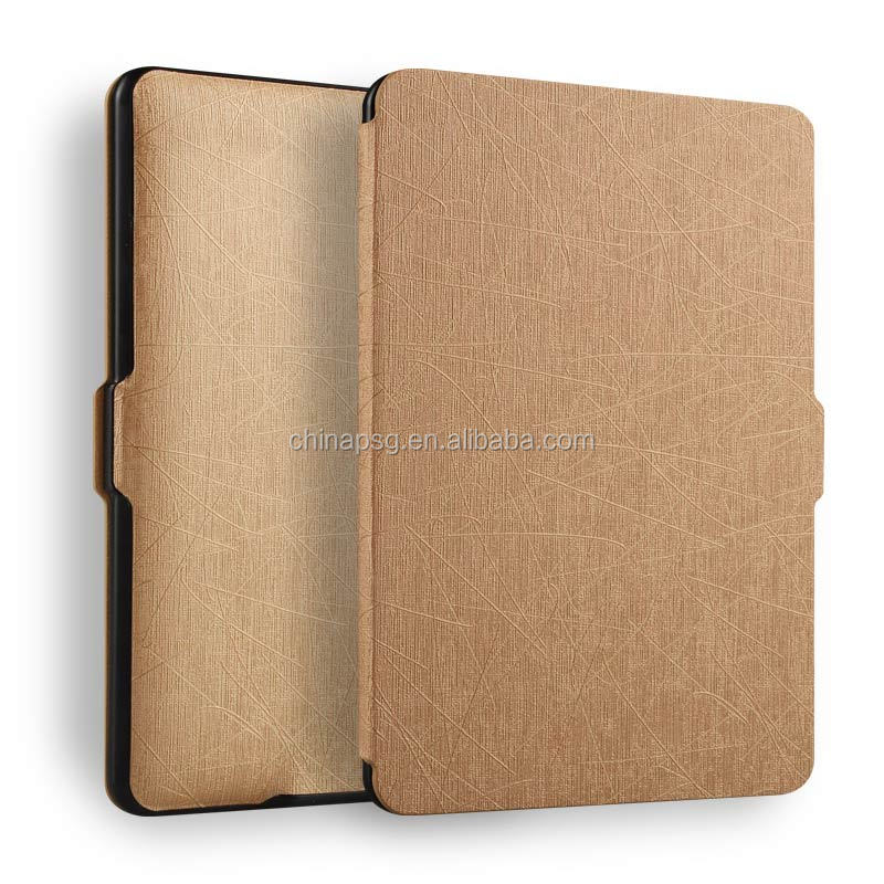 Smart Magnetic PU Leather case for Kindle Paperwhite cover, Ultra Slim Top Protective Tablet Leather case for Kindle Paperwhite