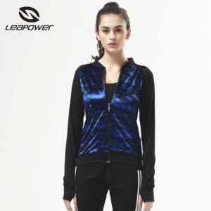 workout clothing women Single Layer Mesh Slim Fit sport jacket