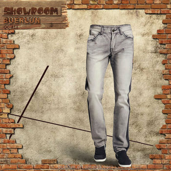 Gray Man Denim Jeans Pent High Quality Jeans Manufacturers China ...