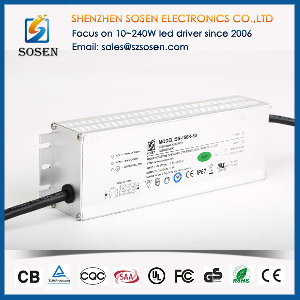 High Efficiency 150W CUL 28v dc power supply