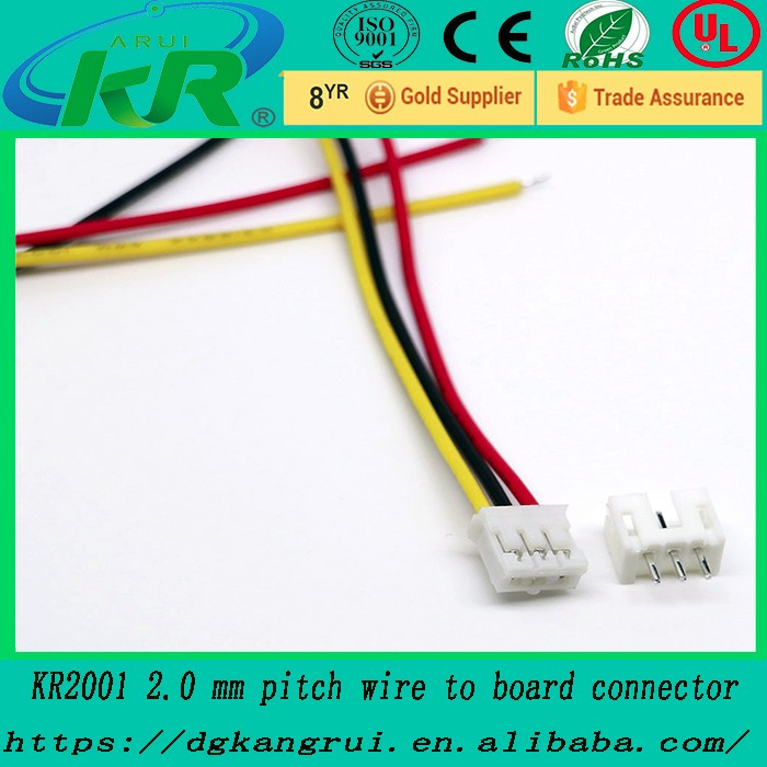 Mini Micro Jst 2.0 Ph 3-pin Connector Plug With Wires Cables - Buy ...