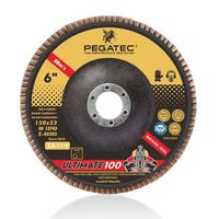 PEGATEC ULTIMATE 150x22 mm VSM flap disc for stainless steel with MPA certification