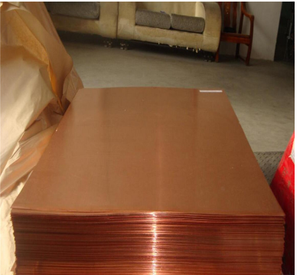 Copper Material 1mm 1.5mm 2mm 2.5mm 99.9% Pure Copper Clad Laminated Plate