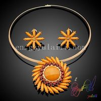 Wholesale fine jewelry Italian high fashion jewellery 18k gold plated jewelry