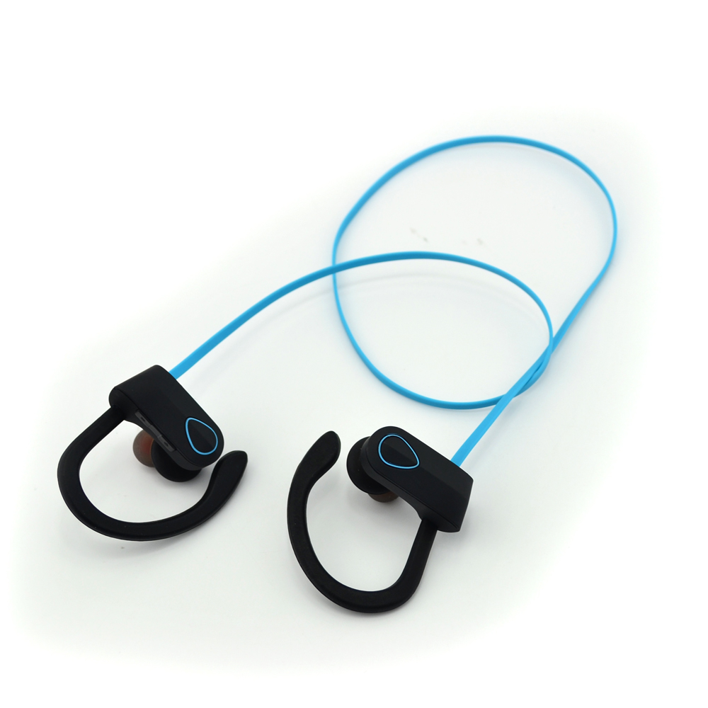 New Best Selling Super Bass Showering IPX7 Waterproof Bluetooth Headphone, Soft Rubber Ear-hook