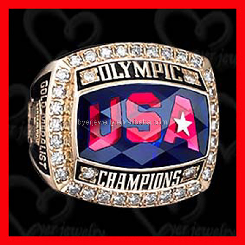 Custom Stainless Steel Championship Rings