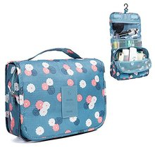 Wholesale Portable Cosmetic Toiletry Bags Travel Storage Hanging Organizer Makeup Bag