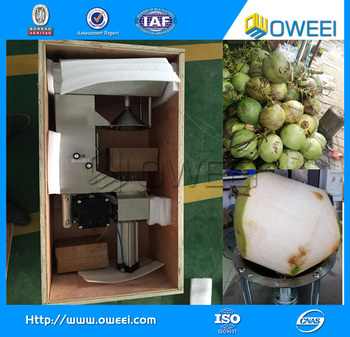 Hot Sell Professional Coconut Cutting Machine