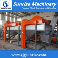 Sink Float Tank for Waste Plastic Recycling Washing Machine PE Film Washing Line