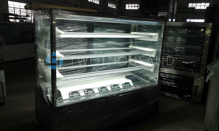 4 Shelf Commercial Used Bakery Display Cases For Sale With Ce ...