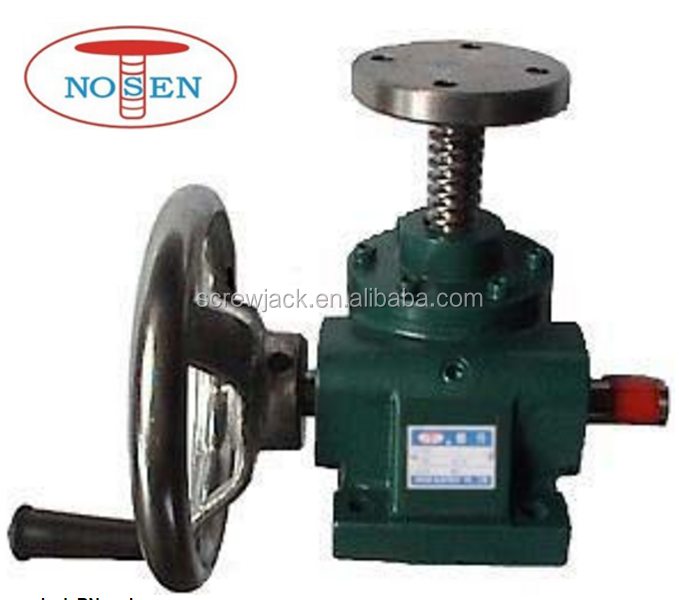 NOSNE small hand wheel manual screw jack for sale