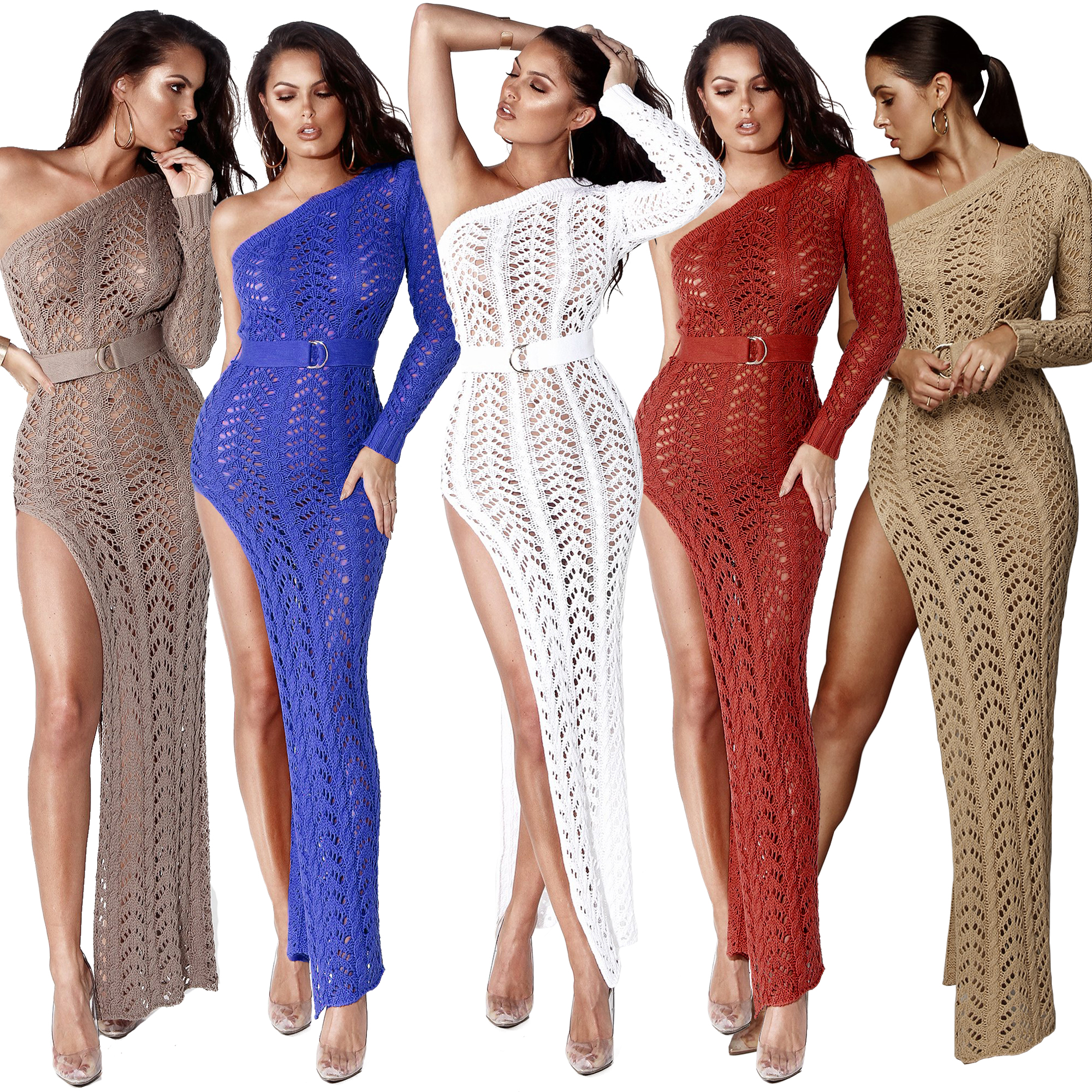 strapless crochet cover up <strong>beachwear</strong> women sexy knitted cover up beach dress