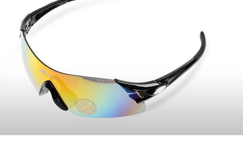 5699f412f21 ROCKBROS Colorful Cycling Glasses Women s Men s Outdoor Sports Bike Bicycle  Windproof Sunglasses 5 Colors