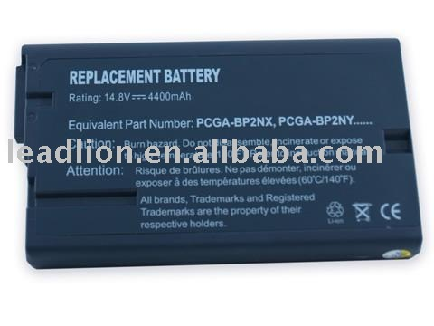 Laptop Replacement Battery for Sony BP2NX
