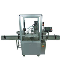 Gosunm cheapest automatic e-liquid bottling filling machine line with nail polish essential oil