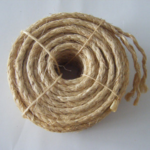 natural untreated sisal fiber rope wholesale
