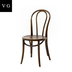Classical style wooden cafe chair/antique bent wood chair/best selling round back wooden cafe chair