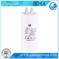 CBB60-B ducati capacitor for household applications with plastic shell