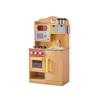 2019 Top Quality Children Kitchen Sets For Kids Play Wooden Toy Set
