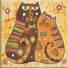 Decorative arts and crafts diamond painting animals cats 40*40CM 5d DIY special shaped diamond painting