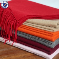2015 Thickness wool scarf super Shawl SWW878 pure wool shawl for women plain color wool scarf wholesale