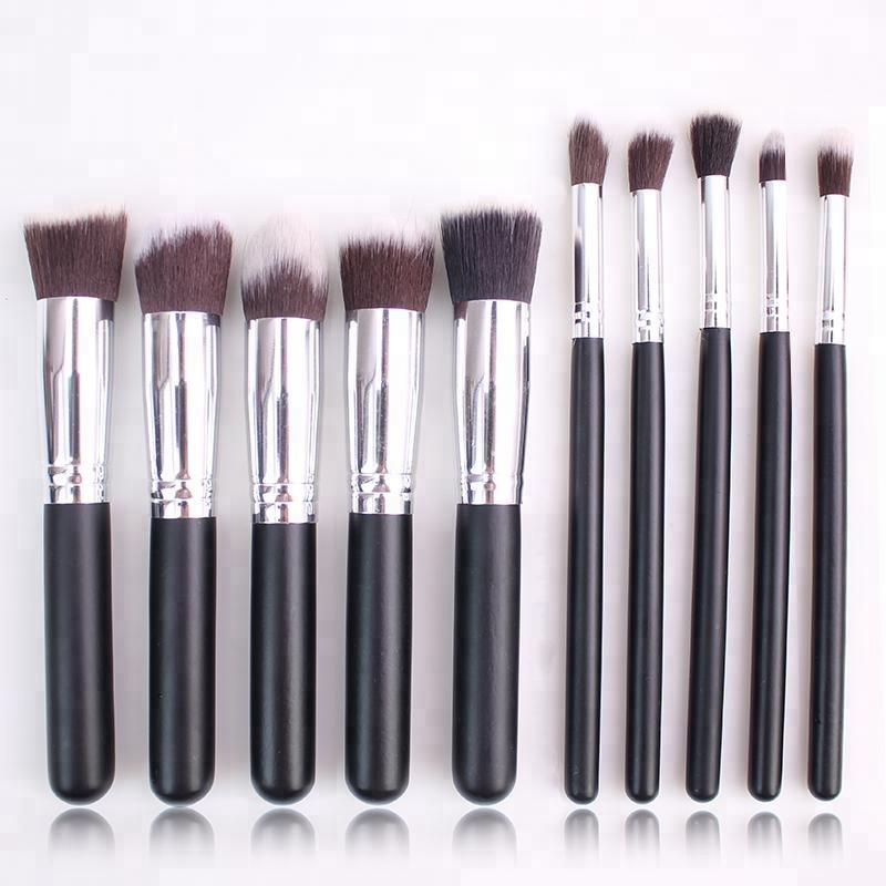 wholesale 10pcs makeup brush set kabuki brush
