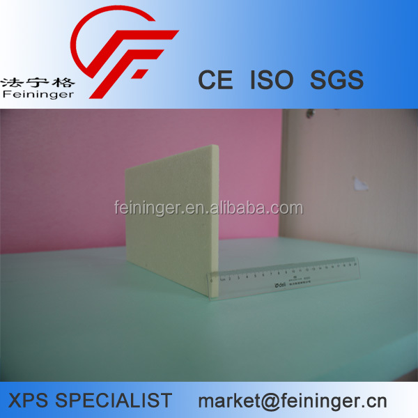 CE/ISO 10mm XPS Insulation Board, high quality XPS foam board