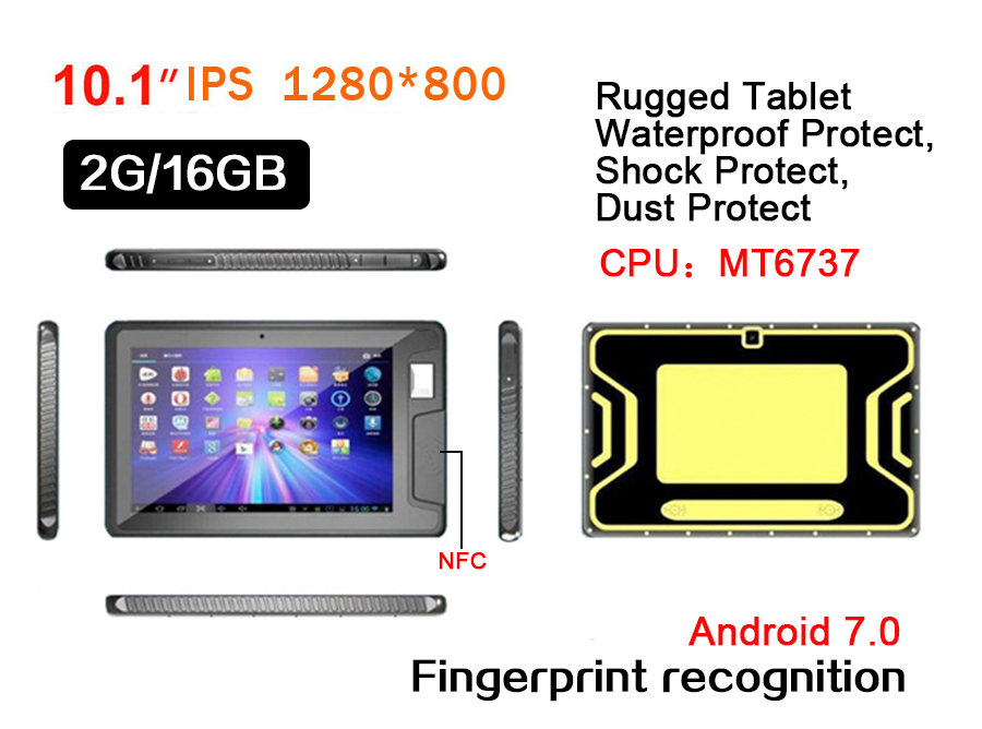 תעשייתי tablet pc10inch tablet pc שנזן tablet עם waterpoof, הלם, אבק להגן על