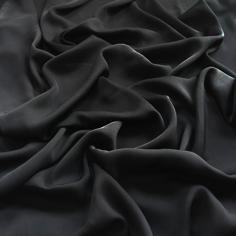 Good drapery soft 67inch formal black abaya fabric for Dubai Scarf
