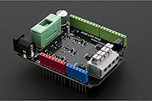 Angelelec DIY Open Sources Arduino, RGB LED Lights With Driving Expansion Board, Three High-Quality Mosfet, Infrared Receiving Sensor Expansion Board, Compatible With Most Standard Arduino Interface