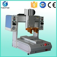 Precision robotic system automated epoxy dispensing machine