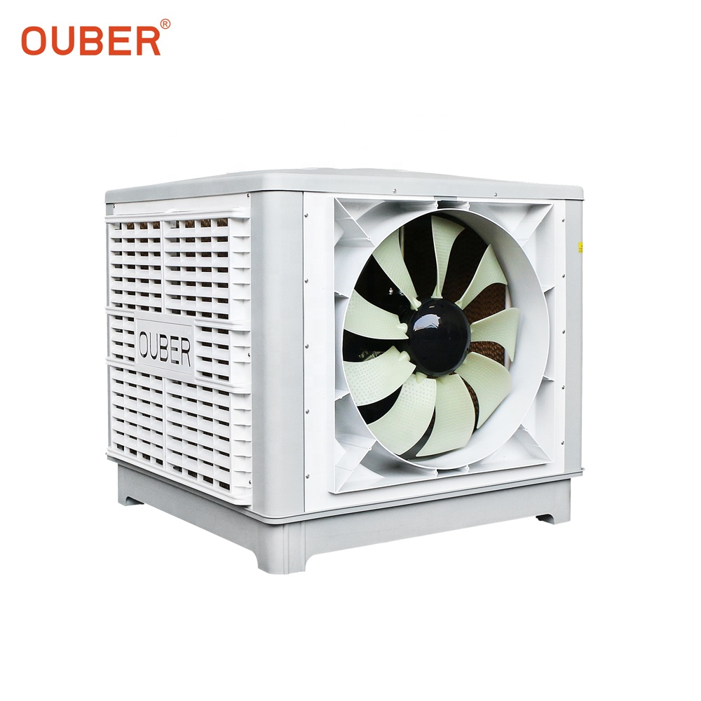 OUBER hotsale high efficient water industrial <strong>air</strong> <strong>conditioner</strong> wall <strong>window</strong> mounted evaporative <strong>air</strong> cooler