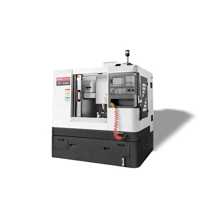 Kleine 3 assige CNC 5 axis Verticale Mini Metal VMC Freesmachine 4 axis Bewerkingscentrum met gereedschapswisselaar prijs voor koop BL-S360