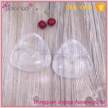 Wholesale Comfortable Transparent Uplift Silicone Triangle Bra Inserts