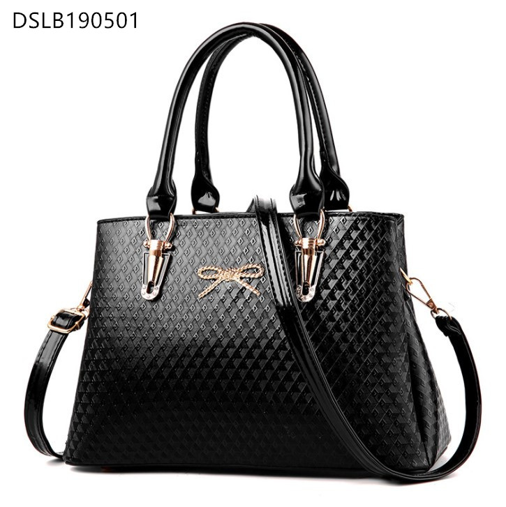 DS Women Sweet Handbags Gold Bow Fashion Elegant <strong>Totes</strong>