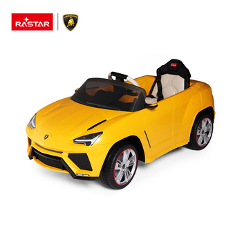 Good quality baby ride on toy RASTAR Lamborghini kids car